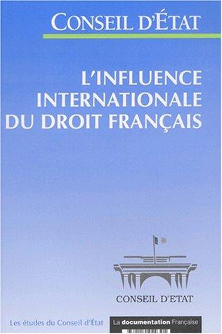 L'influence internationale du droit français