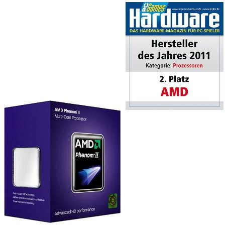 AMD Phenom II X6 1045T Six Core Processor (2.70 GHz, 6MB Cache, Socket AM3, 95W, 3 Year Warranty, Retail Boxed)