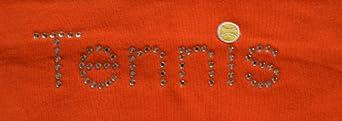 Buy Funny Girl TENNIS Rhinestone Stretch Headband by Funny Girl Designs
