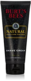 Burts Bees Natural Skin Care for Men Shave Cream 6 Ounces