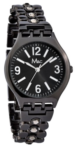 M&c Women's   Trendy Self-Adjustable Gunmetal Watch   FC0374