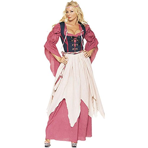 Women's Peasant Wench Costume (Sz: Large 12-14)