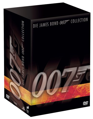 James Bond 007 Collection ( 21 DVDs) [Limited Edition]