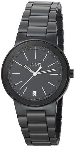 Joop  Sensation  Swiss Made - Reloj de cuarzo para mujer, con correa de acero inoxidable, color negro