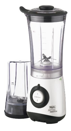 James Martin by Wahl Mini Blender   Grinder with DVD White   Black ZX770