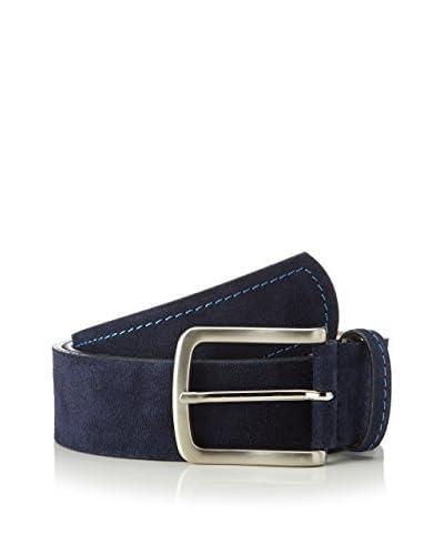 Men's Heritage Cinturón Piel Sixto Azul