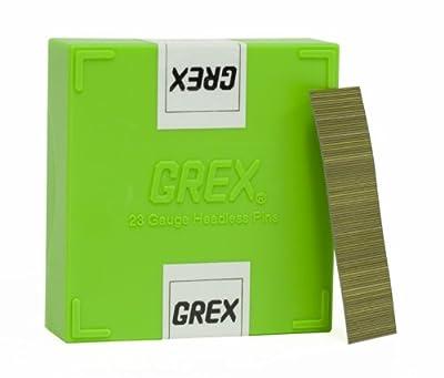 GREX P6/20L 23 Gauge 3/4-Inch Length Headless Pins (10,000 per box)