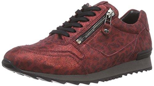 Kennel und Schmenger Schuhmanufaktur Runner, Low-Top Sneaker donna, Rosso (Rot (red So. schwarz)), 39