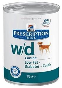 Hill's Prescription Diet w/d Canine Low Fat Glucose Management Gastrointestinal - 12x13oz