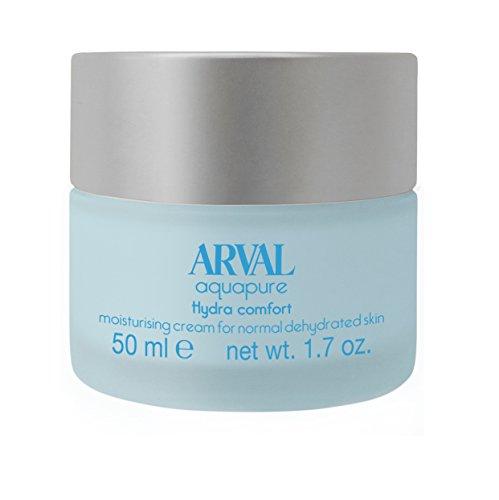 Arval Aquapure Crema Idratante per Pelli Normali Disidratate - Vasetto 50 ml