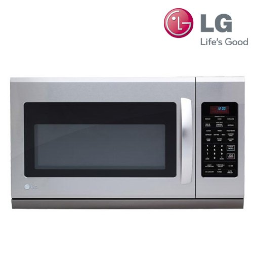 LG LMH2016ST 2.0 Cu. Ft. 1100W Over-the-Range Microwave Oven with Extenda Vent - Stainless Steel