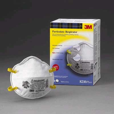 3M 8210Plus Series Respirator 60-Pack