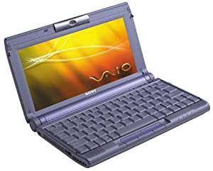 Sony VAIO C1MW PictureBook Laptop (867 MHz Crusoe TM5800, 256 MB DDR RAM, 30 GB hard drive