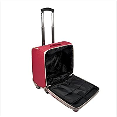 Executive Business Bag / Wheeled Briefcase / Laptop Trolley Expandable Luggage Bag / 4 wheel Rolling Tote With Retractable Handle System