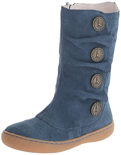 Livie & Luca Marchita Clock Button Boot (Toddler/Little Kid),Ocean Blue,11 M Us Little Kid front-713092