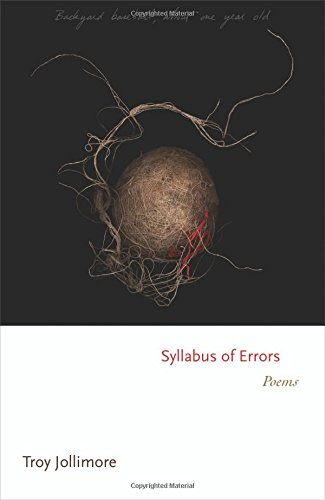 Syllabus of Errors: Poems (Princeton Series of Contemporary Poets)