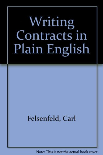 Writing Contracts in Plain English