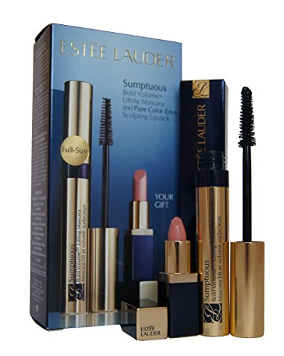 Estée Lauder Makeup Occhi Makeup Set regalo sumpt uous Mascara Black 6 ml + Mini Envy Lipstick n. 06 Desirable 1 STK.