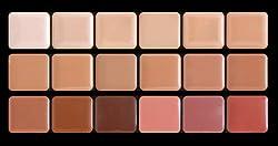 Graftobian HD Creme Foundation Super Palette - Cool Plus