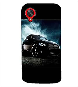 PrintDhaba Car D-1418 Back Case Cover for LG GOOGLE NEXUS 5 (Multi-Coloured)