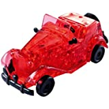 Funtime Gifts Crystal Puzzles Vintage Car (Red)