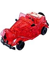 Crystal Puzzle - 6190331 - Puzzle 3D - Voiture de Collection - Rouge