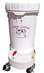 Automatic Water Bowl for Dogs 6.5 Gallons By Critter Concepts- Gravity Flow Waterer