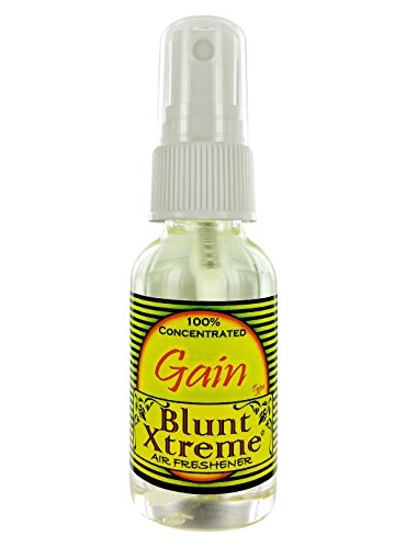 The Ultimate Gain Type Air Freshener By Blunt Xtreme - 100% Ultra Concentrated Oil Based Spray - Ideal For Bathroom, Home, Car, Office & More - A Feeling Of Purity - Long Lasting Effects - 1oz Bottle (Power Gain compare prices)