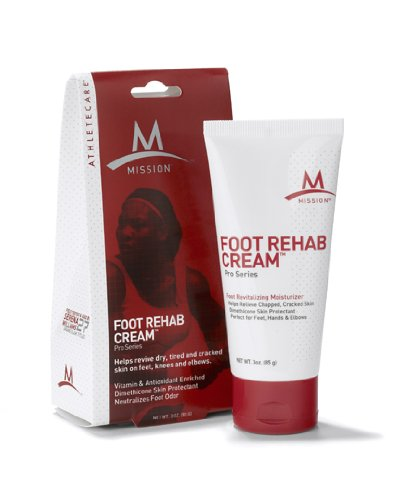 Foot rehab! This foot cream relieves feet after a long run.