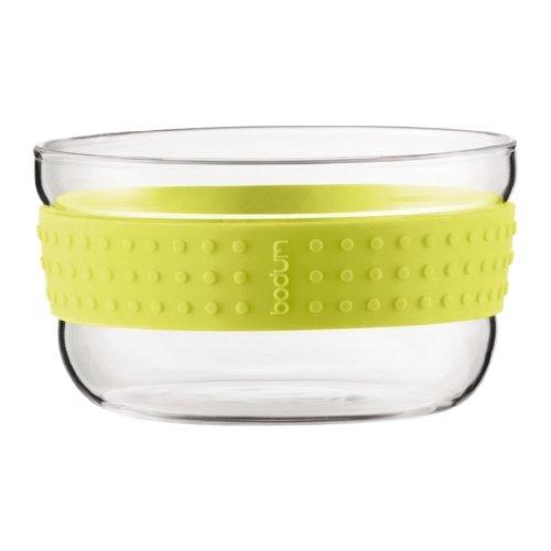 bodum pavina insalatiera in vetro 21cm verde limone. Black Bedroom Furniture Sets. Home Design Ideas