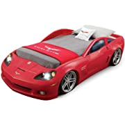 Step2 Corvette Bed with Lights - Red/Silver/Black