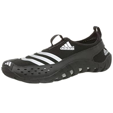 adidas Men's Jawpaw Water Shoe,Black/Metsilver/Blk,12 M
