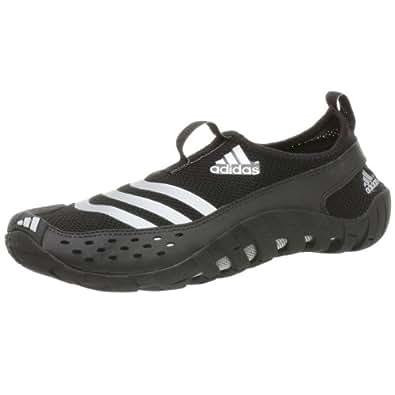 adidas Men's Jawpaw Water Shoe,Black/Metsilver/Blk,12 M