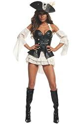 Starline Women's Black Pearl Sexy Pirate Costume Set