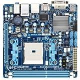 GIGABYTE マザーボード AMD A75 FM1ソケット Mini-ITX GA-A75N-USB3