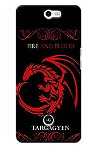 IndiaRangDe Designer Mobile Back Cover for InFocus M812