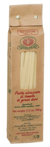 Rustichella Fettuccine, 17.5-Ounce Boxes (Pack of 4)