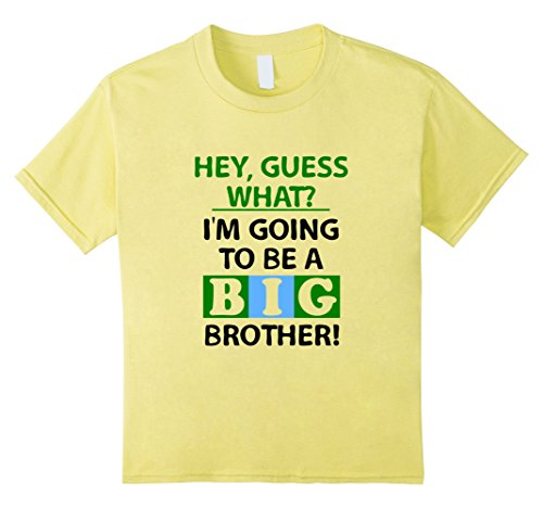 Kids I'm Going To Be A Big Brother Shirt Pregnancy Announcement 4 Lemon (Going To Be A Big Brother Shirt compare prices)