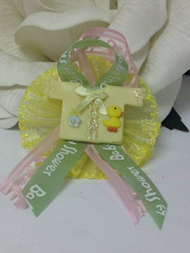 Mom To Be Baby Shower Baby Ducky Corsage Favor Decoration Favor With Flower front-1037986