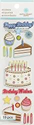 Martha Stewart Crafts Happy Birthday Cake Stickers