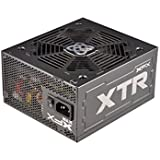 XFX PRO 750W Black Edition Single Rail Power Supply with Full Modular Cables ATX 750 Energy Star Certified Power Supply, P1750BBEFX