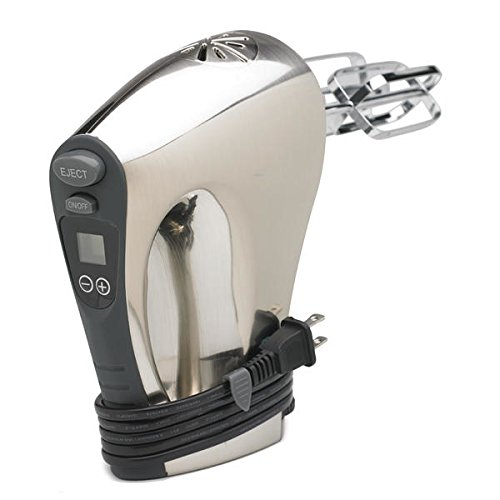 Nesco HM-350 16-Speed Hand Mixer, Stainless Steel (Hand Mixer Digital compare prices)