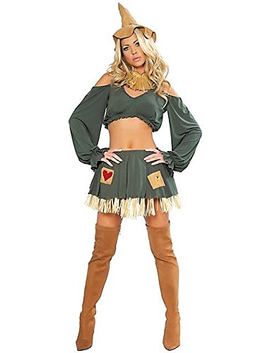Scarecrow Costume - Small/Medium - Dress Size 2-6