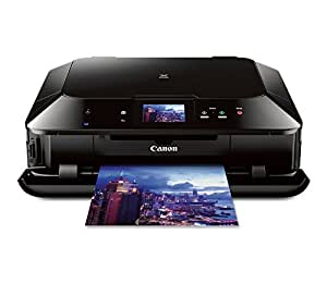 Canon PIXMA MG7120 Wireless Color Photo All-In-One Printer, Mobile Smart Phone and Tablet Printing, Black