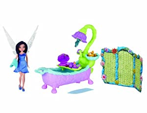 Disney Fairies Fairy World Play Set - Silvermist's Pixie Bath