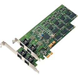 Mainpine Iq Express Rf5122 Intelligent Fax Board 4 X Analog - Super G3 - Pci Express X1