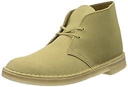 Clarks Men\'s Desert Boot Chukka Boot, Maple, 11 M US