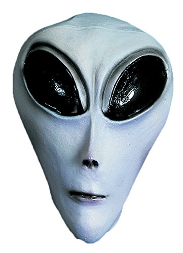 Ufo Grey Alien Roswell Area 51 Adult Halloween Costume Mask