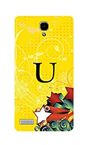 SWAG my CASE Printed Back Cover for Xiaomi Redmi Note Prime