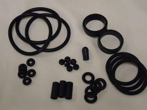 Alvin G Pistol Poker Pinball Black Rubber Ring Kit